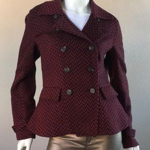 Tweed Double-Breasted Jacket